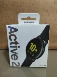 Relógio Samsung galaxy watch active 2 novo sem uso com NF