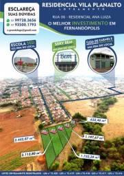 Terreno em Fernandópolis - Residencial Vila Planalto