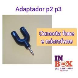 Adaptador p2 p3