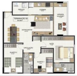 Escolha o Seu Apto. 84m², 3Qts, 2Vgs, Área de Lazer Completa, na Jatiúca
