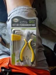 Kit de ferramentas Faço entregas em até 7KM