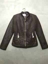 Jaquetas de couro forrada
