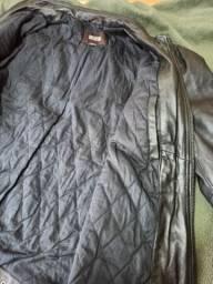 Jaqueta Importada Masculina de Couro Legítimo Michael Kors