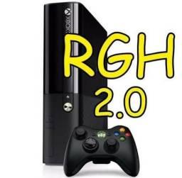 Xbox360 super slim helite 200 jogos no HD rgh