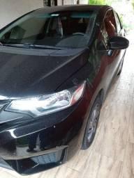 Honda Fit, Preto, ano 2016/2106