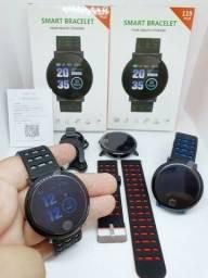 Smartwatch 119 Plus/ Monitor De Fitness / Frequência Cardíaca / Pressão Sanguínea