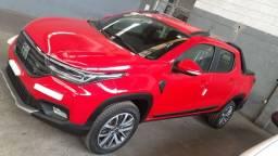 Fiat strada 1.3 mpi cd 8v 4p flex manual volcano 2021 a pronto entrega