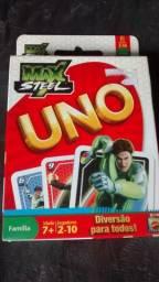 Jogo Uno Max Steel Original / Lacrado