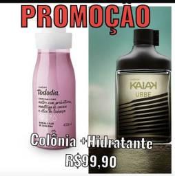 PROMOÇÃO  Kaiak  Urbe ou Oceano + Hidratante Tâmara e Canela ou Ameixa