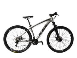 Bike KSW Quadro 17 Aro 29 Cinza (Nova sem uso