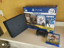 PS4 SLIM DE 1tb e THE LAST OF US 2
