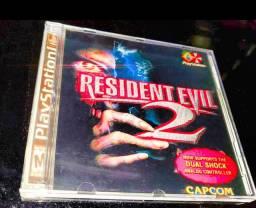 Resident Evil 2 Dublado PlayStation 1
