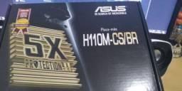 Placa Mãe Asus H110M-CS - Seminovo - Perfeito Estado 200 reais