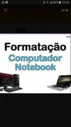 Formatação PC e Notebook na residência