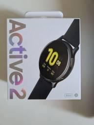 Galaxy Watch Active 2 lacrado com nota e garantia