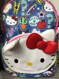 2 mochilas Hello Kitty produto oficial por 60 reais