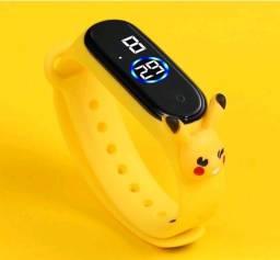 Título do anúncio: Relogio infantil pikachu Pokemon