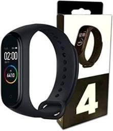 COD:0163 Pulseira Relógio Inteligente Smartband M4 Monitor Cardíaco