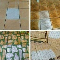 Produto restaurador de piso