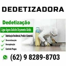 ###Dedetizadora e Sanitização