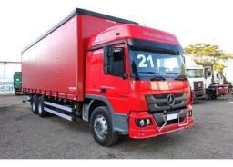 Título do anúncio: Mercedes Atego 2426 6x2 2021 Automatico Sider<br>