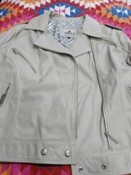 Barbada jaqueta de couro legítimo