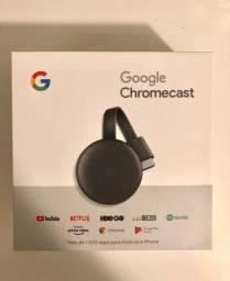 Chromecast 3 - Com nota fiscal