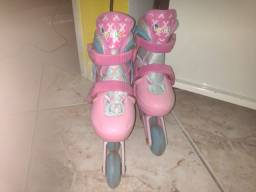 Vendo ou troco patins infantil