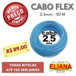 Cabo Fio Flex 12x Sem Juros Ribeirão Preto