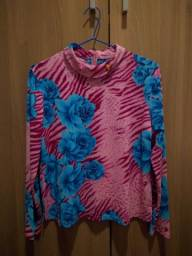 blusa estampada japonesa