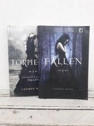 Combo Livros da Série Fallen. Primeiro e segundo volume.
