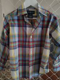 Camisa xadrez Polo Ralph Lauren