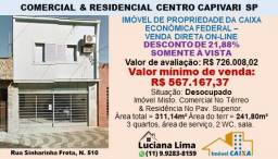 COMERCIAL & RESIDENCIAL CENTRO CAPIVARI SP (DESCONTO DE 21,88%)