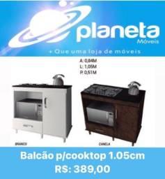 BALCÃO P/ COOKTOP 1.05CM // Antiguidades