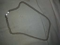 Cordão prata 925 + Relógio Tommy