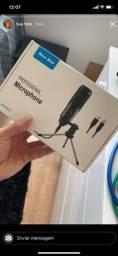 Microfone condenser USB