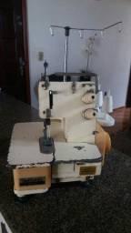 Máquina de costura galoneira portátil gk257 110V