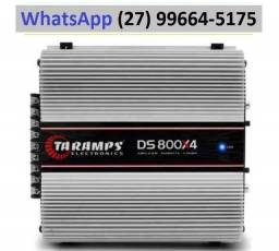 Modulo Taramps Ds 800x4 2 Ohms 800w Amplificador Automotivo
