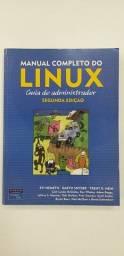 Título do anúncio: Livro Manual Completo do Linux Guia do Administrador Administração de Sistema Ótimo Estado