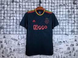Camisa Ajax Preta 4º 2021/22
