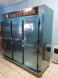 Geladeira para cerveja 6 portas