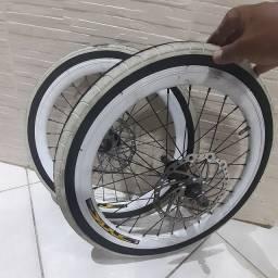 2 rodas completas aro20