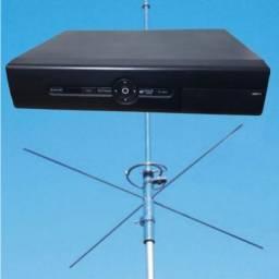 Transmissor fm + Antena + Cabo (PROMOÇÃO)