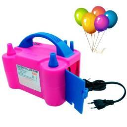 Compressor de Balão e de Bexigas com 2 Bicos em até 6x. Produto Novo. Pronta Entrega.