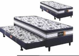 cama box acoplada com auxiliar = frete gratis
