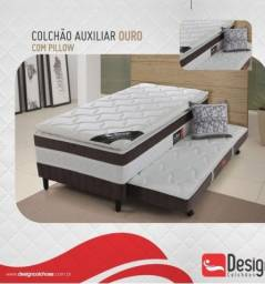 auxiliar - cama box acoplada de solteiro