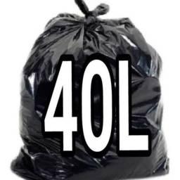 Título do anúncio: Saco de Lixo 40L com 100 unidades