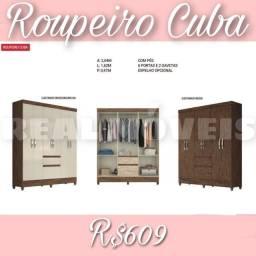 Guarda-roupa Cuba-58990