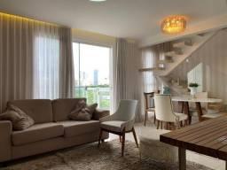 Duplex para venda tem 88 metros quadrados com 2 suítes em Setor Oeste - Goiânia - GO