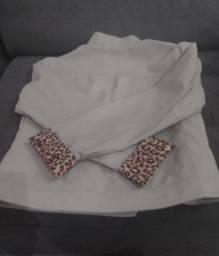 Título do anúncio: Jaqueta em couro, tamanho G